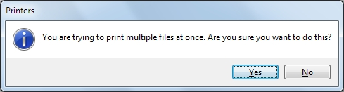 Printing Multiple Files