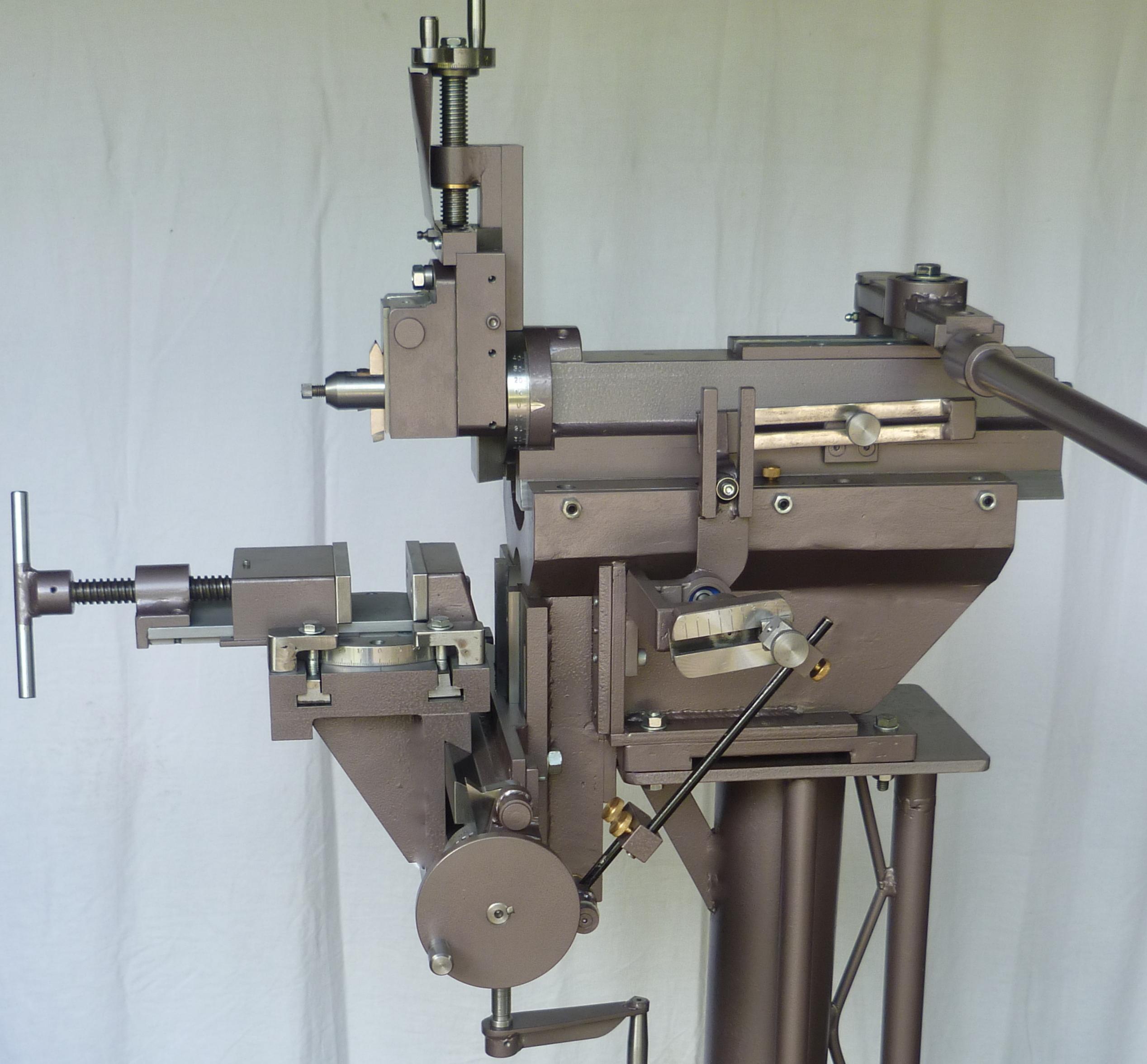 Acto 6 Hand Metal Shaper Plans Machineryplans